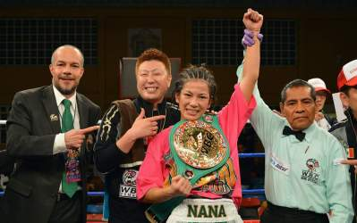 Nana Yoshikawa Becomes Interim WBC Super Flyweight Champion