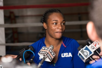 "Claressa Shields: ""There is no doubt I will start 2018 with a win"""