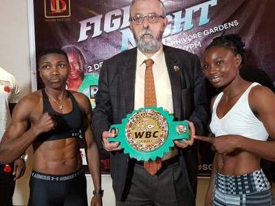 Both Fatuma Zarika and Catherine Phiri Make Weight Ahead of their Saturday WBC Championship Showdown
