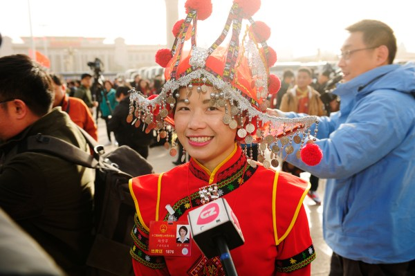 Female Deputies to 12th NPC Give Interviews - All China ...
