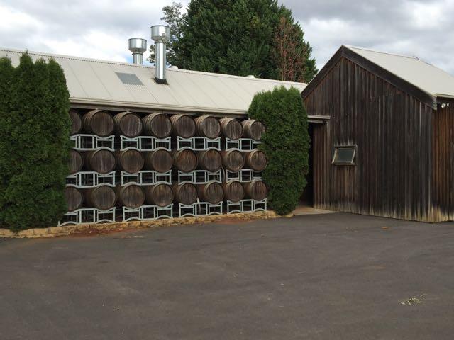 Elmswood barrel wall
