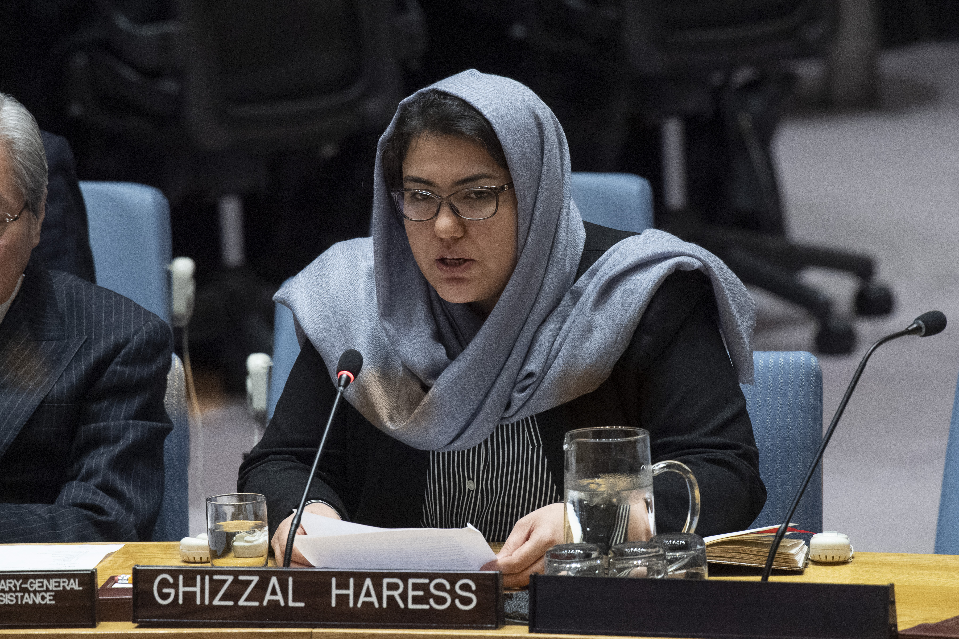 Un Security Council Briefing On Afghanistan By Ghizaal