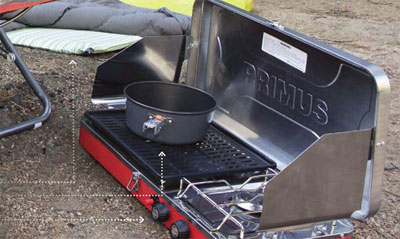 Primus Pro Duo 2 Burner Grill Bo Cooking En The Picture Above Is Atle Bbq C Stove