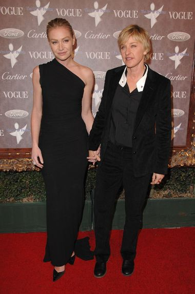 Image Of Portia De Rossi Girlfriend On Red Carpet