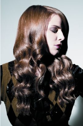 Image Result For Curled Long Hair