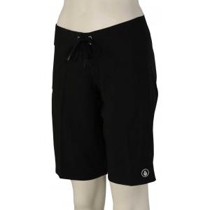 c23b17a116fd Volcom Simply Solid 11″ Women's Boardshorts – Black – 13