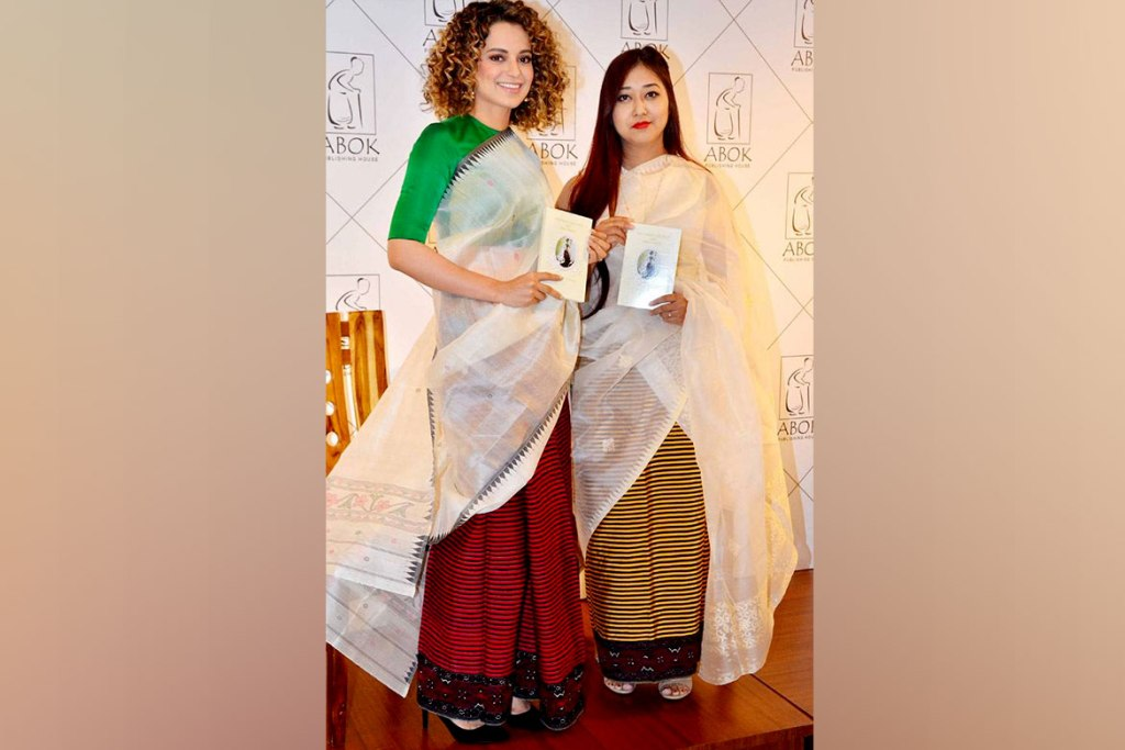 Phanek And Innaphi From Manipur