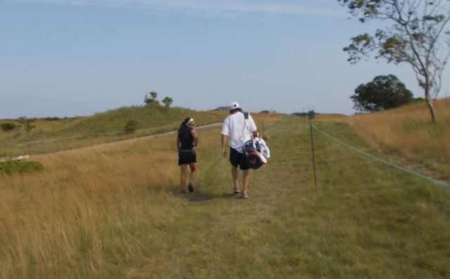 caddying for a lpga player - womens golf
