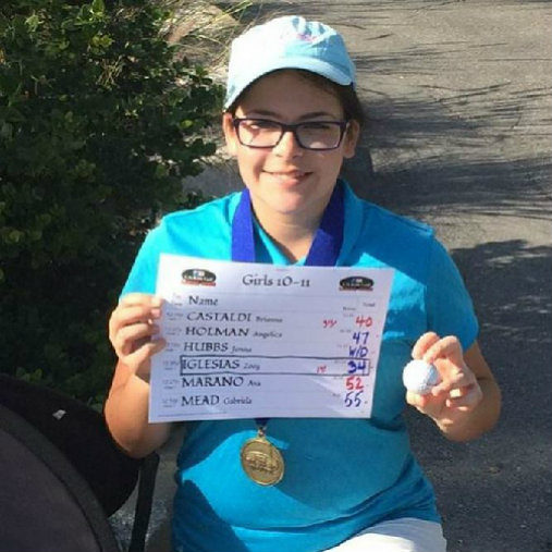 Zoey Iglesias – Girls Golf High Achiever