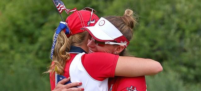 Paula Creamer and Brittany Lang - US Captain's picks 2015