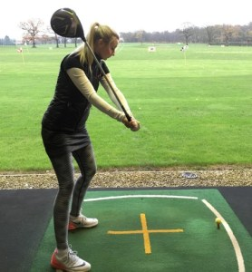 Getting power and Consistency into your Golf Swing hannah davies golf swing incorrect arm motion