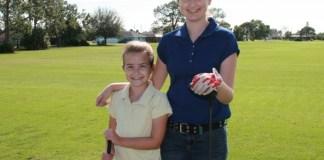 Maggie and MacKenzie Paolino girls golf