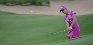 Paula Creamer short game imagery