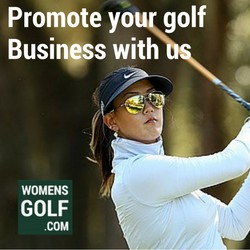 promote your business with womens golf