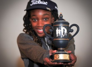 queen igbineweka trophy girls golf