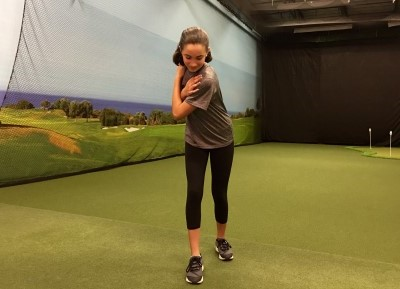 Master your Backswing Womens Golf