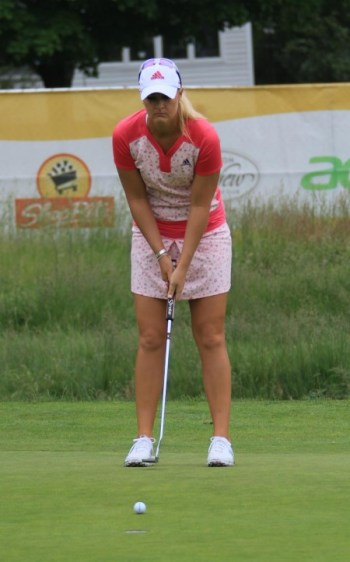 Anna Nordqvist Womens Golf LPGA Shoprite 2016