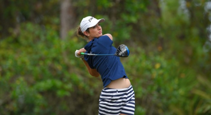 Ashlan at the 2015 LPGA Qualifying Tournament | Photo: Scott A. Miller / Symetra Tour