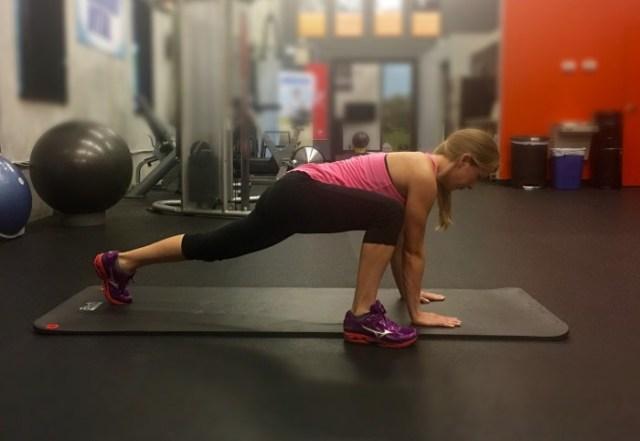 Melissa -Plank Hip Mobility womens golf