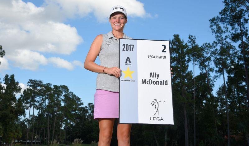 Ally McDonald Symetra Tour 2017 LPGA Rookie
