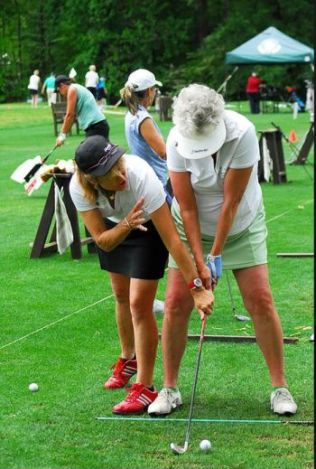 LPGA teaching golf instruction