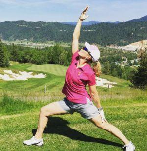 Magazine de golf féminin Kathleen Heiney LPGA