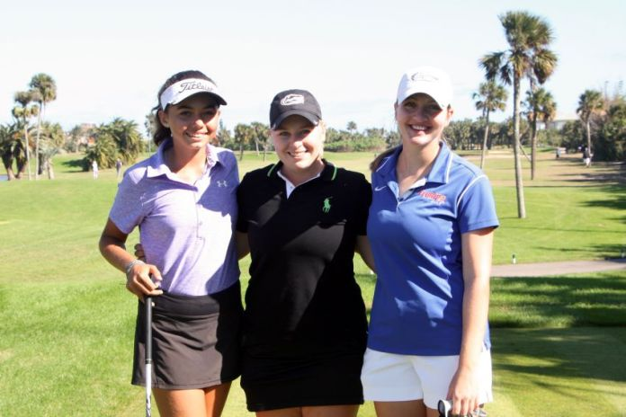 Alexa Pano Samantha Wagner Kelly Grassel 2017 Sally Womens Golf Newsletter
