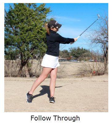 follow through knockdown shot positions Carlos Brown