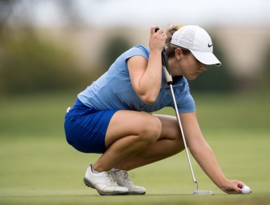 Megan Osland Womens Golf interview Douglas Jay