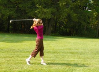 Summer Anderson Womens golf magazine