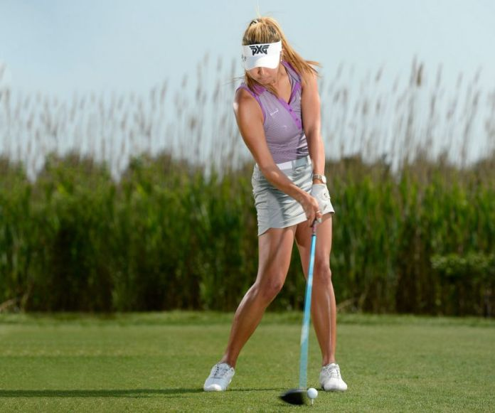Alison Lee point of impact womens golf magazine Parsons Xtreme Golf