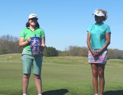 Lauren Freyvogel with 5-time LPGA winner, Cindy Rarick