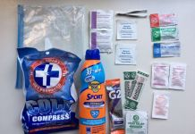 Golfers First Aid Kit Womens Golf Magazine and Newsletter
