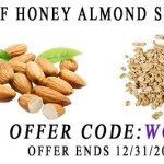 1st tee honey almond snack bars 20% off