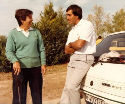 Catherine Lacoste and Seve Ballesteros
