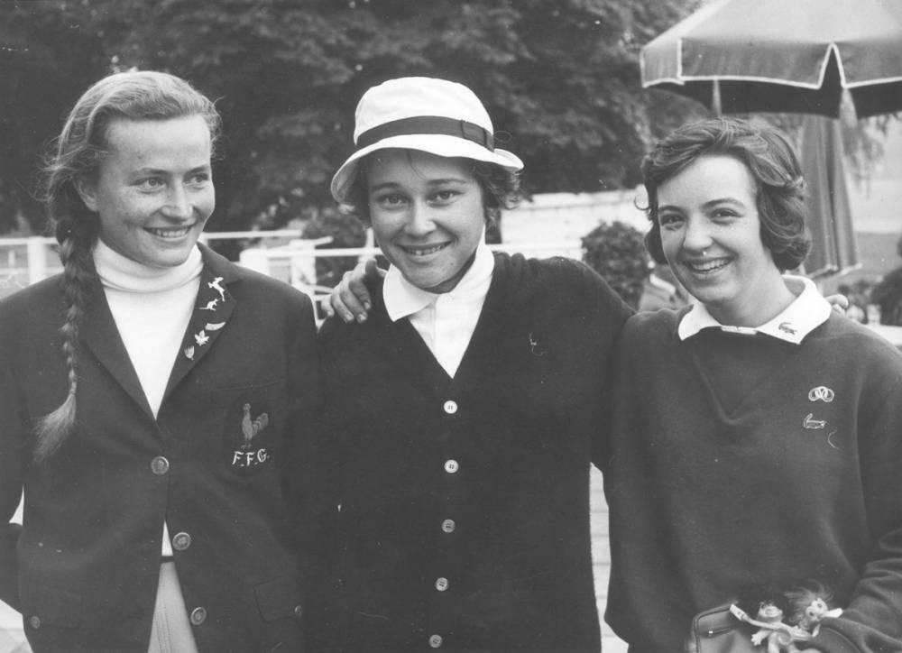 Claudine Cros Brigitte Varangot Catherine Lacoste 1964