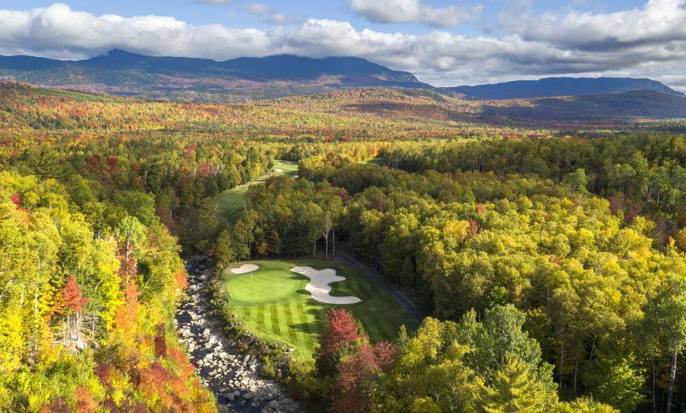 11th hole at Sugarloaf Golf Club Maine - photos by Evan Schiller Women's Golf