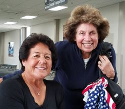 Nancy Lopez with Nancy Berkley Womens Golf