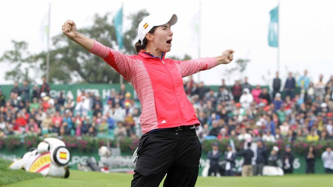 Carlota Ciganda Wins the 2016 LPGA KEB Hana Championship Womens Golf