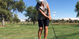 Elena King Using a Hybrid around the green Women's Golf
