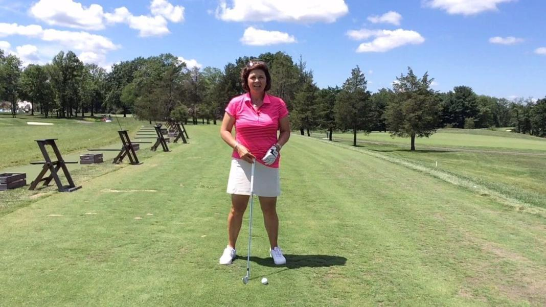 Kathy Hart Wood - Is Your Stance Too Wide lesson womensgolf.com