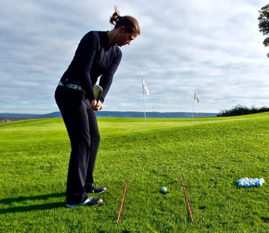 Lizzy Freemantle pre-shot routine womensgolf.com article