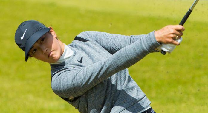 Michelle Wie at the 2017 Womens British Open