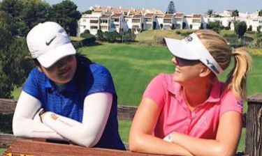 Angel Yin and Olivia Cowan - player journal for womensgolf.com