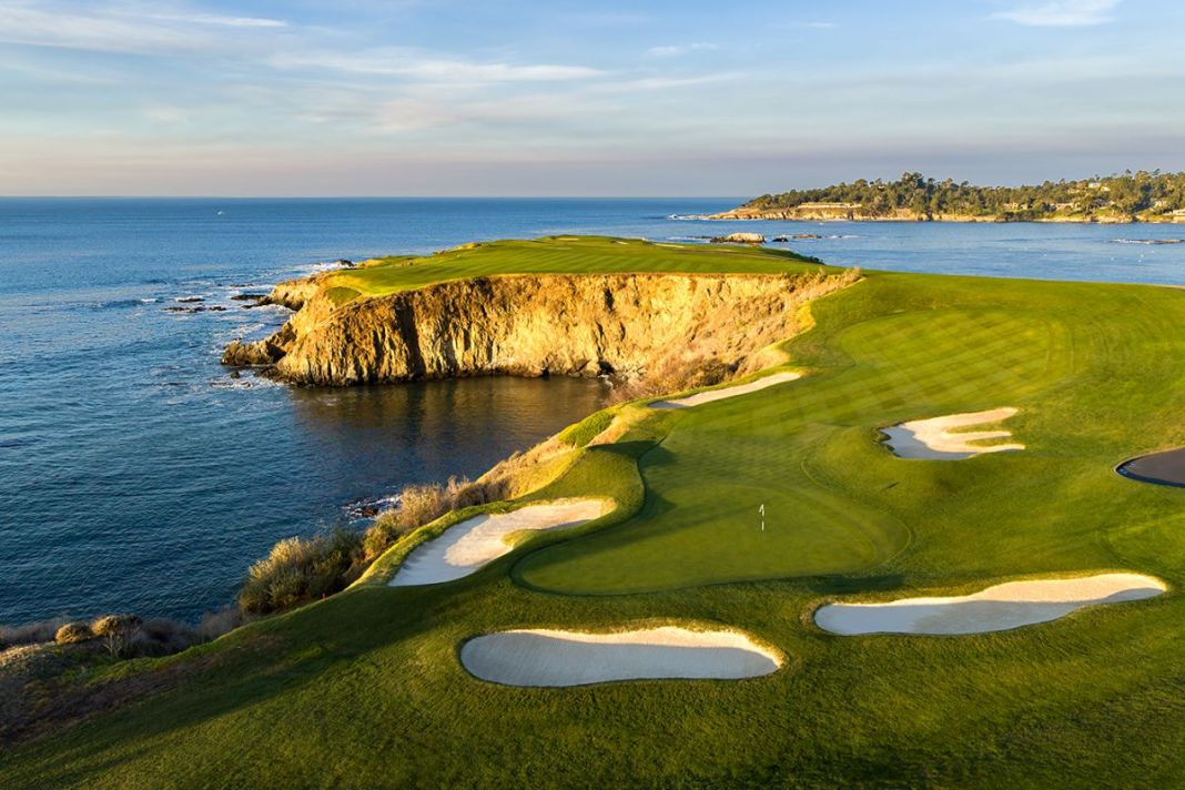 Pebble Beach Golf Links - 8th hole - Evan Schiller - WomensGolf.com
