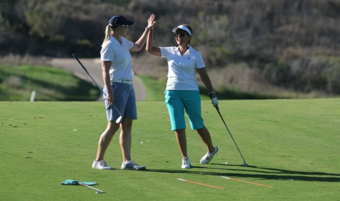 Alison Curdt and Laura - womensgolf.com