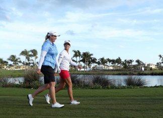 Brittany Lincicome and Pernilla Lindberg Bahamas LPGA | Photo: LPGA/Getty Images