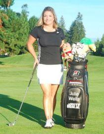 Julie Wells for womensgolf.com