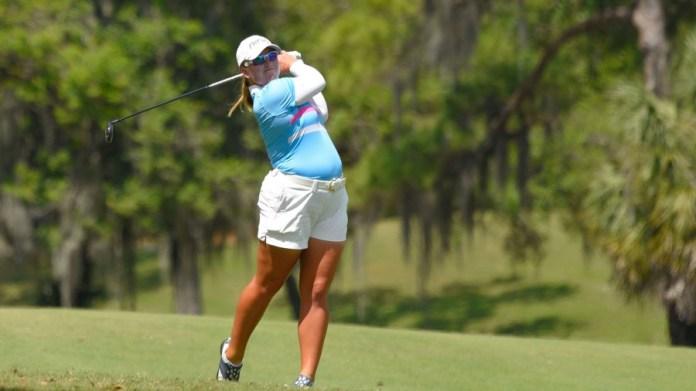LPGA player, Marissa Steen