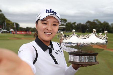 Jin Young Ko - winner of the 2018 Australian Women's Open